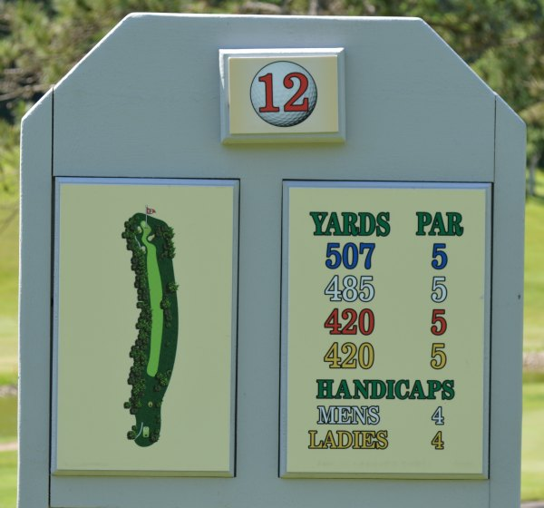 Forest Hills Golf - Hole 12 Information