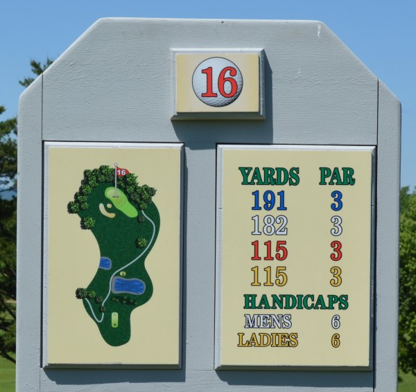 Forest Hills Golf - Hole 16 Information
